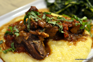 Rustic Italian Braised Boneless Short Ribs - Chew Nibble Nosh