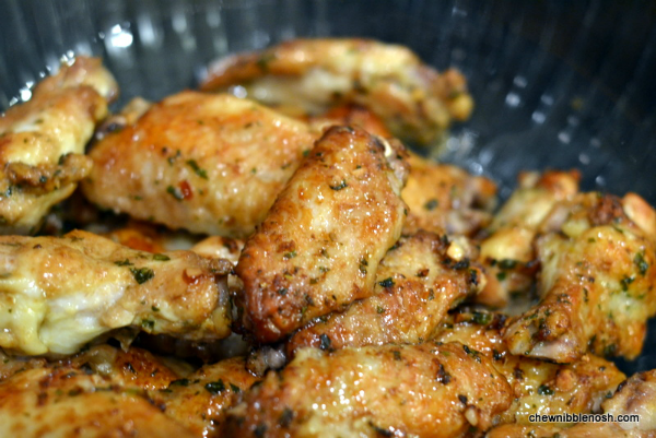 Asian Marinated Wings with Sweet Chili Glaze 4 - Chew Nibble Nosh