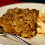 German Apple Cake with Spiced Whipped Cream – Baking with McCormick