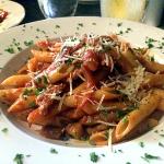 Penne alla Emiliana – Dinner at Indy's Sangiovese Ristorante