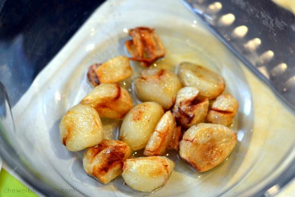 Garlic Confit Toast - Chew Nibble Nosh 3