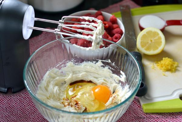 Simple Raspberry Cream Tart - Chew Nibble Nosh 2