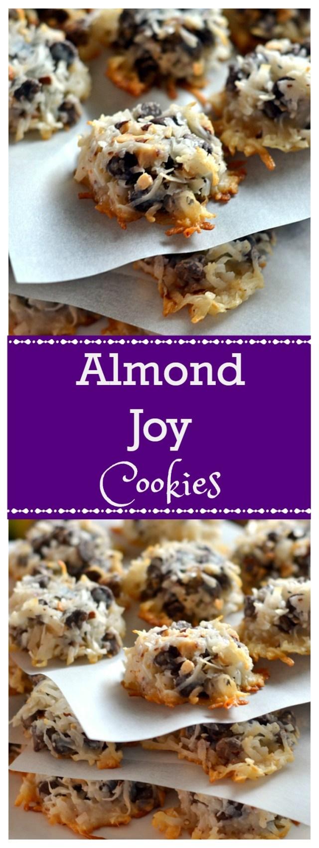 Almond Joy Cookies - Chew Nibble Nosh