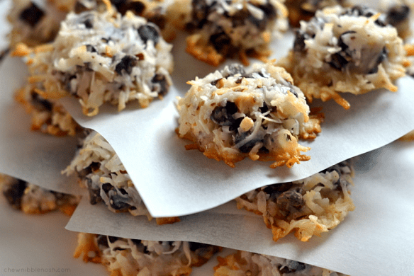 Almond Joy Cookies - Chew Nibble Nosh