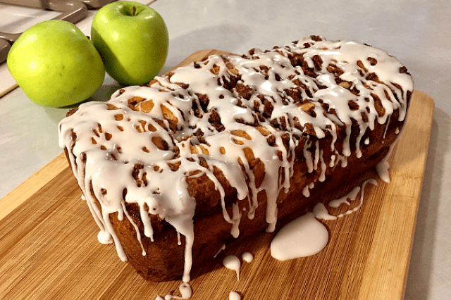 Apple Fritter Bread Loaf
