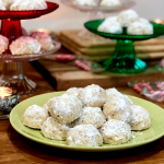 Snowball Cookies | Packed full of butter and buttery walnuts, these snowball cookies...or Russian Tea Cakes, are easy and delicious!