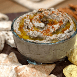 Lentil Hummus | Quick, easy and delicious hummus...made with lentils, so yummy!