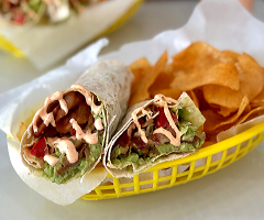 Avocado BLT Wraps
