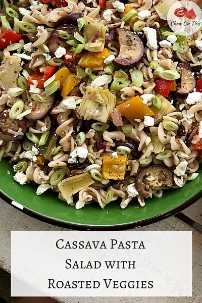Cassava Pasta Salad