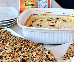 Cheesy Baked Sweet Onion Dip