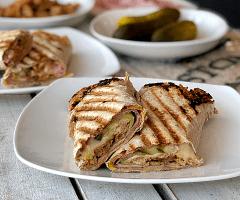 Cuban Flatbread Panini