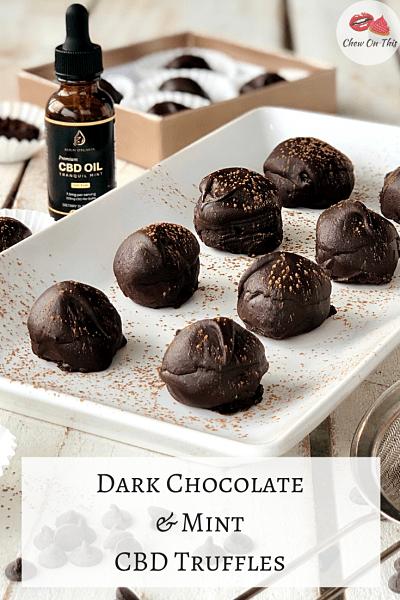 Chocolate CBD Truffles