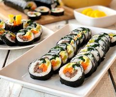 Gimbap (Kimbap) Korean Seaweed Rice Rolls