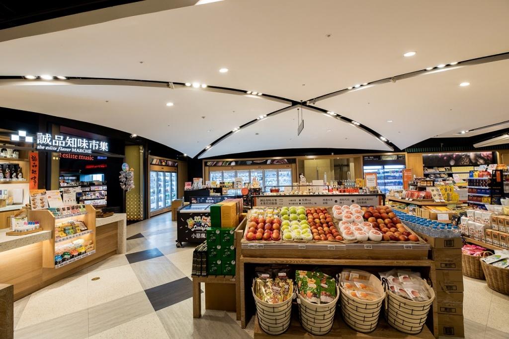 全台唯一24小時書店裡的生鮮超市誠品知味市集