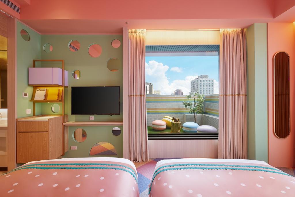 和苑三井花園飯店概念房 好饗甜甜