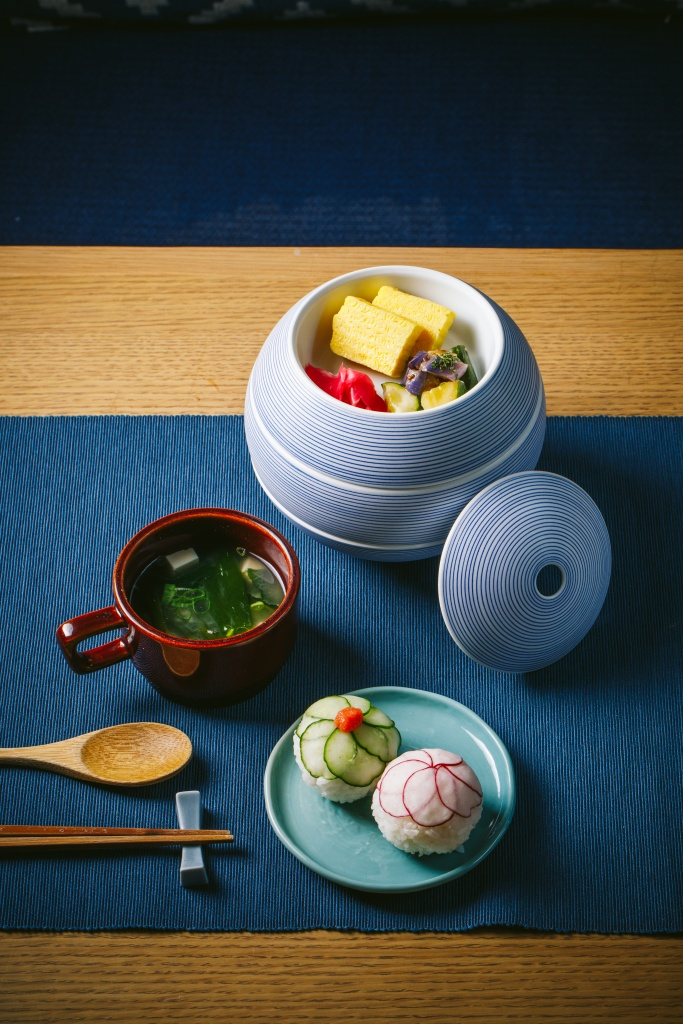 和風鮭魚溫野菜早餐