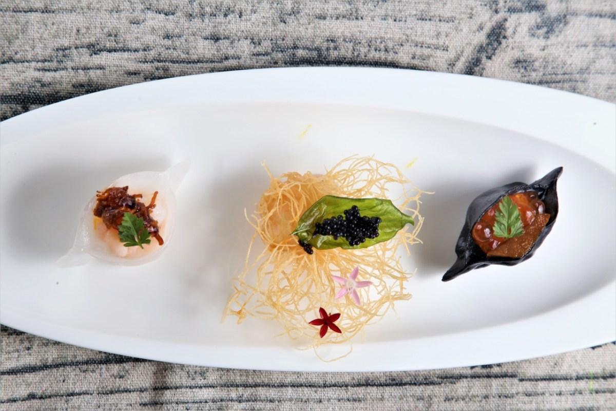 晶華圖四 Richard Chen設計的餐點是以中學為本、西學為用,在品味每道菜的同時,宛如感受到他中西融合的成長背景。