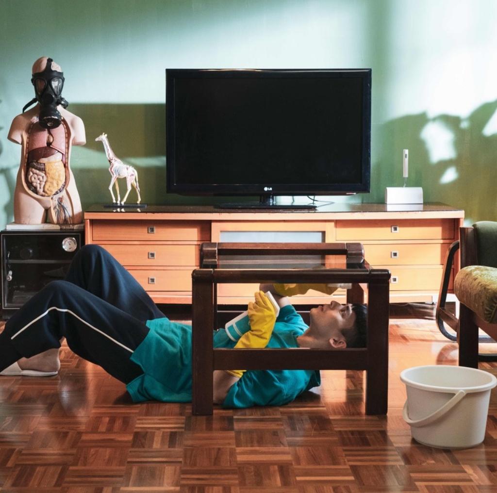 林柏宏在《怪胎》中飾演患有強迫症的宅男