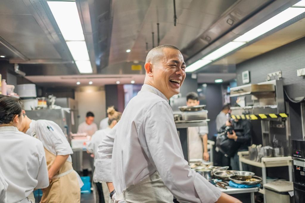 江振誠對食物懷抱的熱情,展現在他的料理中。