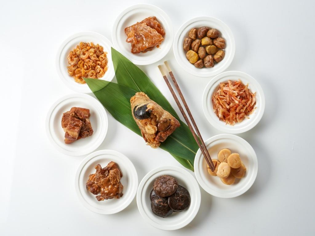 虎掌八鮮粽