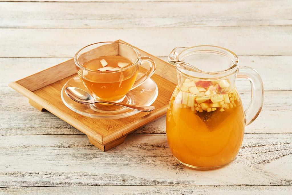 鮮蘋果熱茶