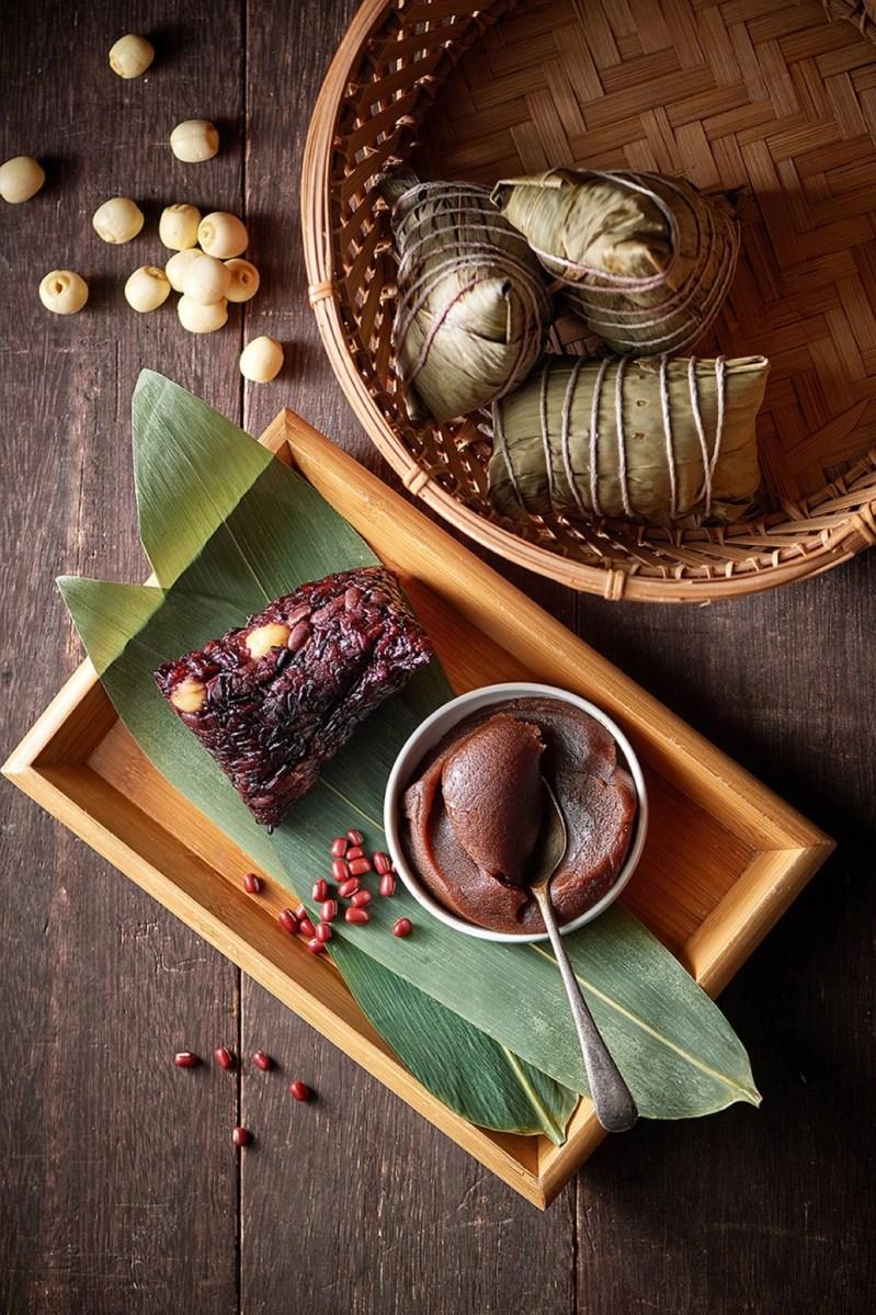 2020 台北美福大飯店 紫米蓮子豆沙粽