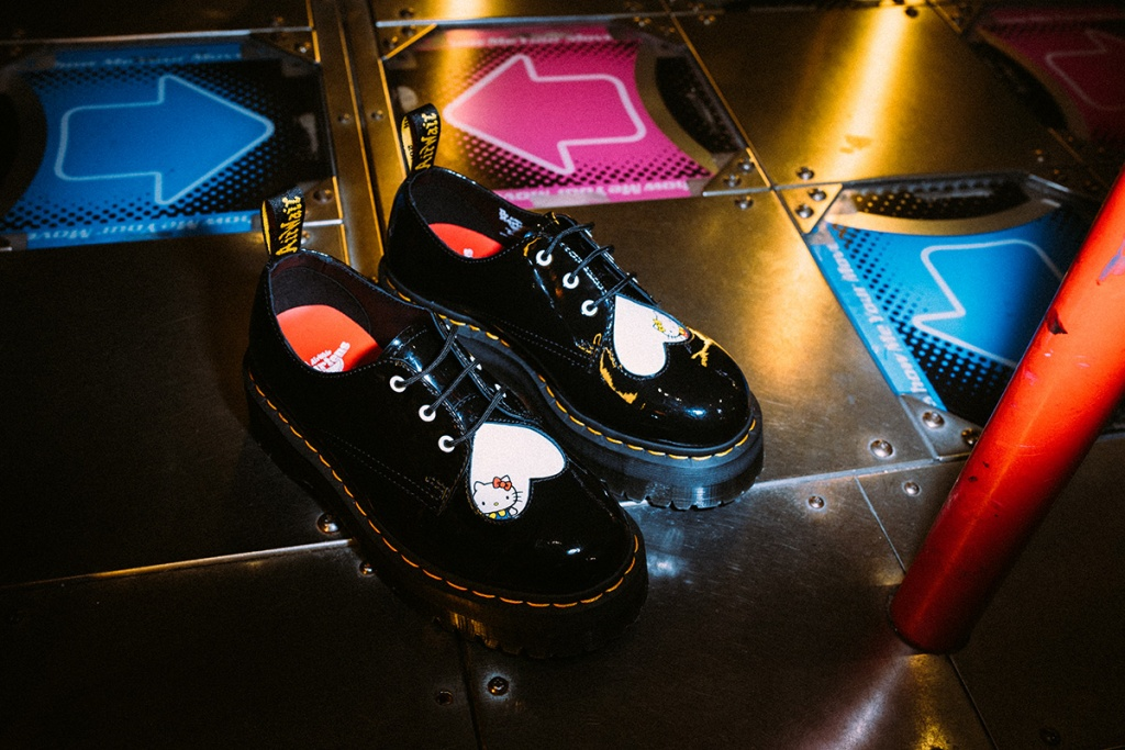 Dr. Martens X Hello Kitty 1461鞋款