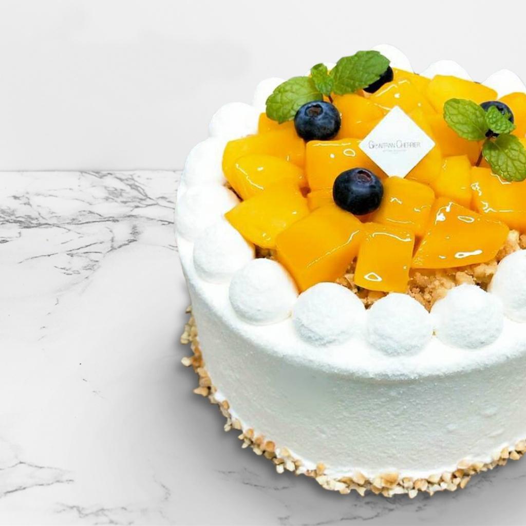 Gc新推出甜點盛夏芒果