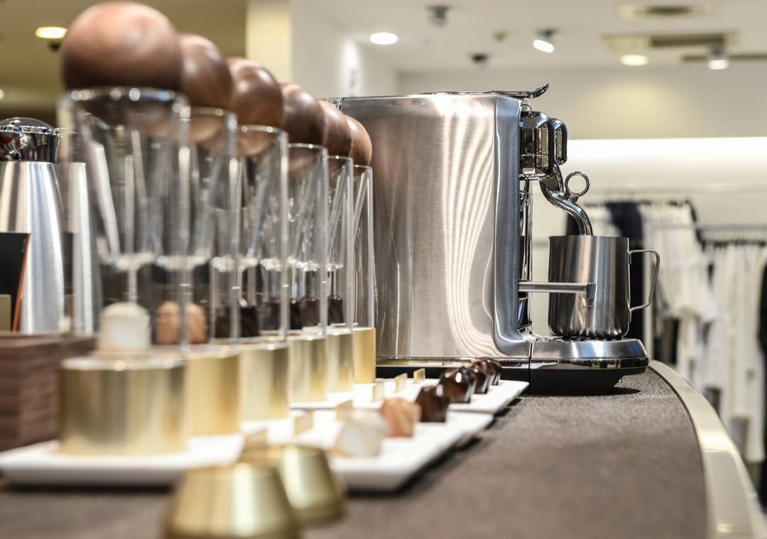 Nespresso 亞洲第一間-用咖啡膠囊回收再打造的新概念精品店