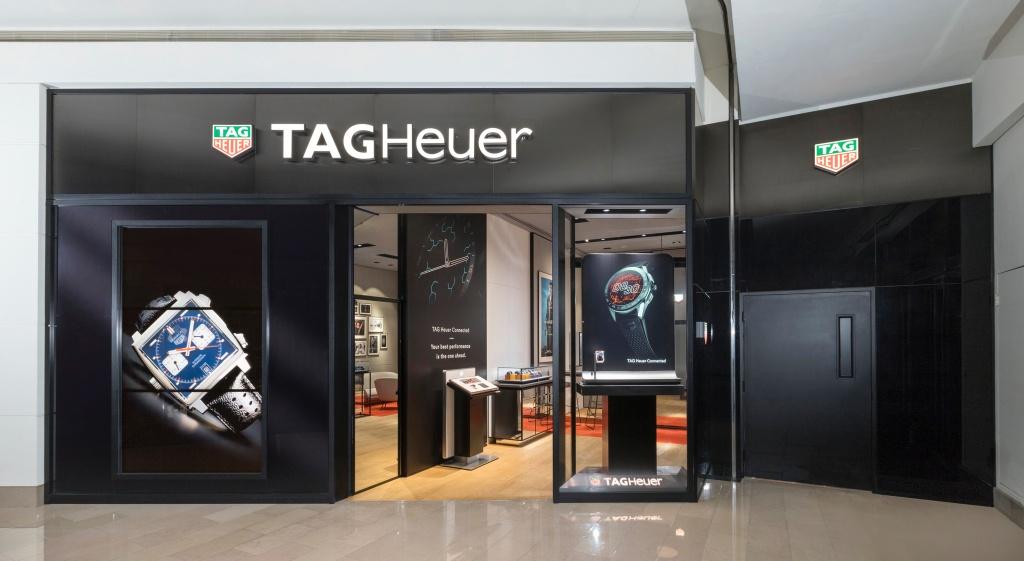 Tag Heuer泰格豪雅全新台北101專賣店