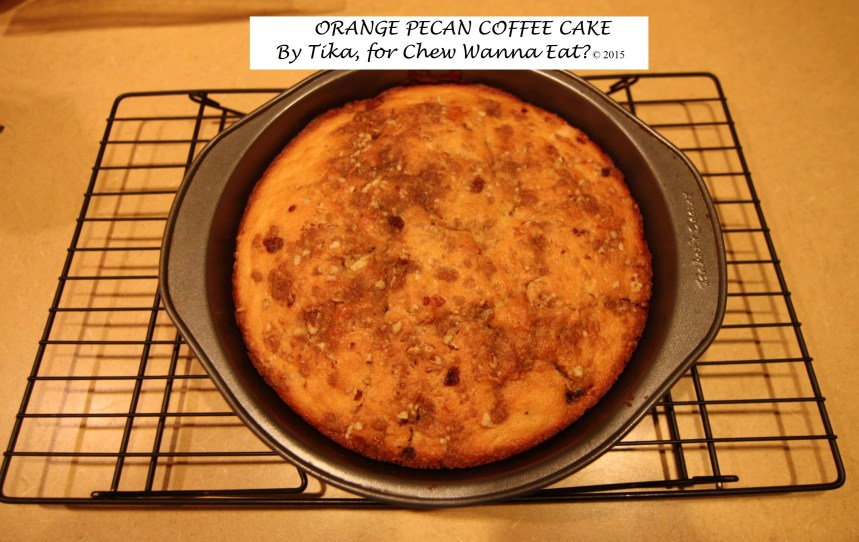 Orange Pecan Coffee Cake