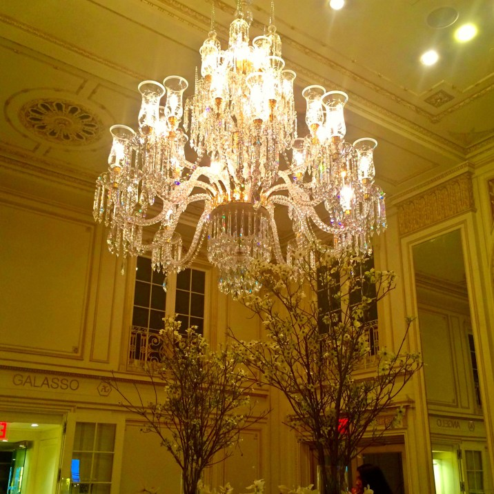 [One day I'll have a chandelier...]