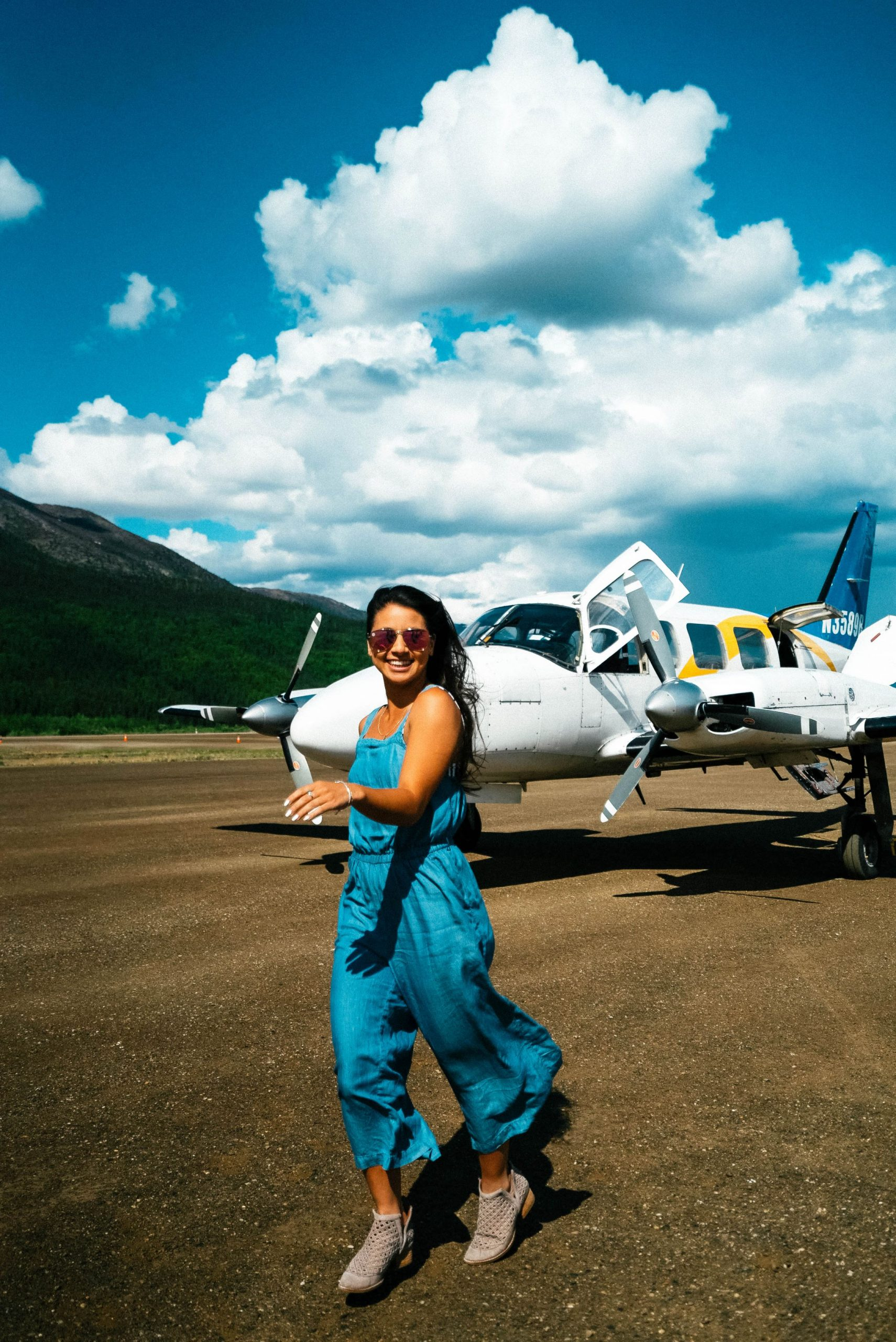 Take an adventurous Arctic Circle flight in Fairbanks, Alaska.