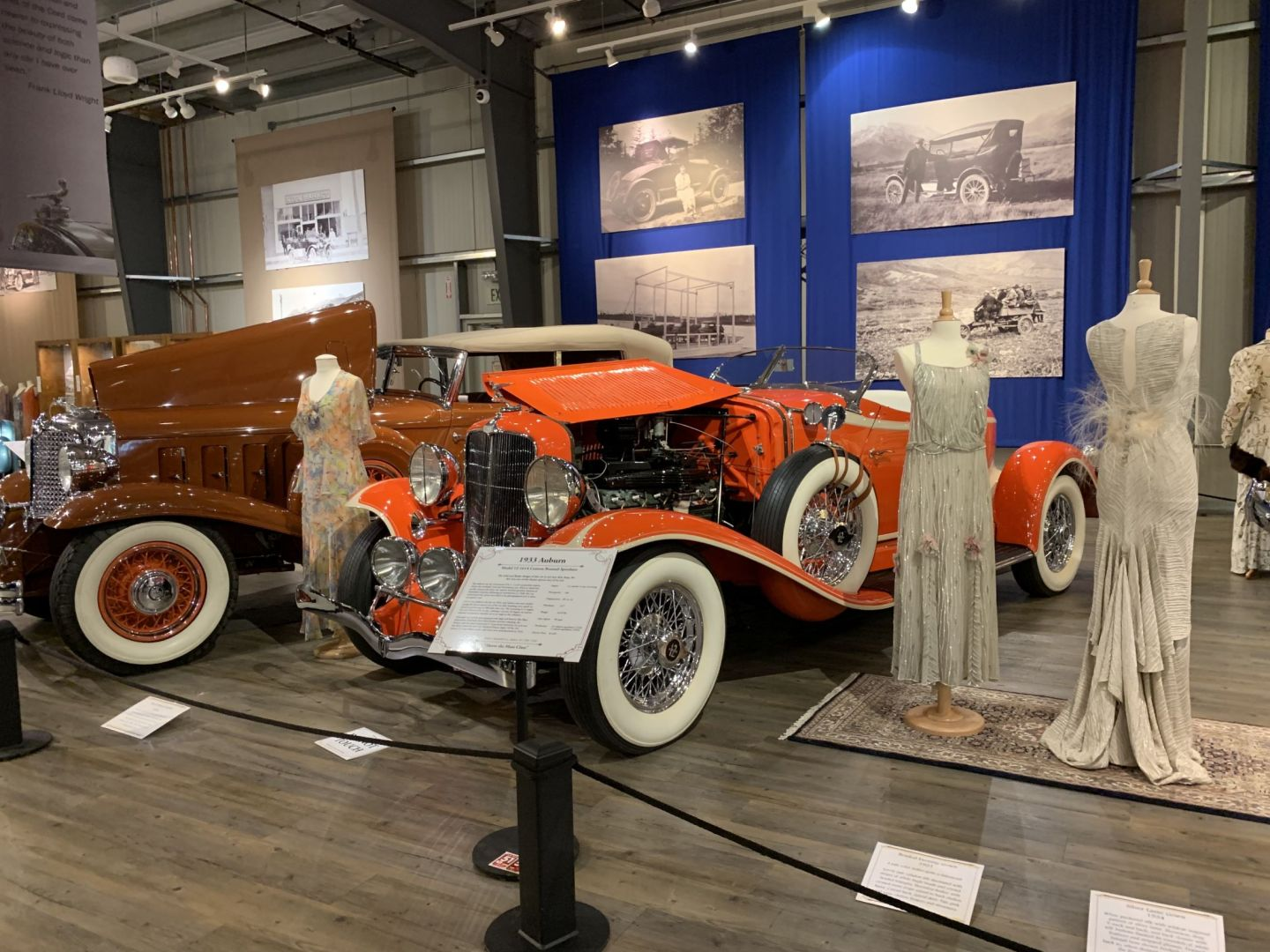 Stop by the Auto Museum which features over 80 vehicles, including horse carriages, steamers, electric cars, midget racers and 30s classics.