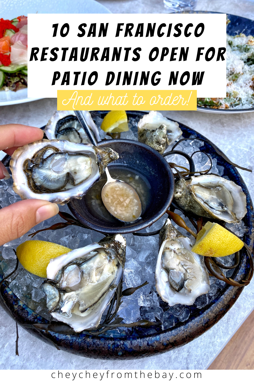 Here are ten delicious restaurants open for patio dining post-coronavirus -- and what to order at each!