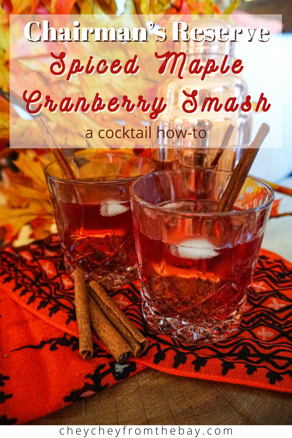 Spiced Maple Cranberry Smash