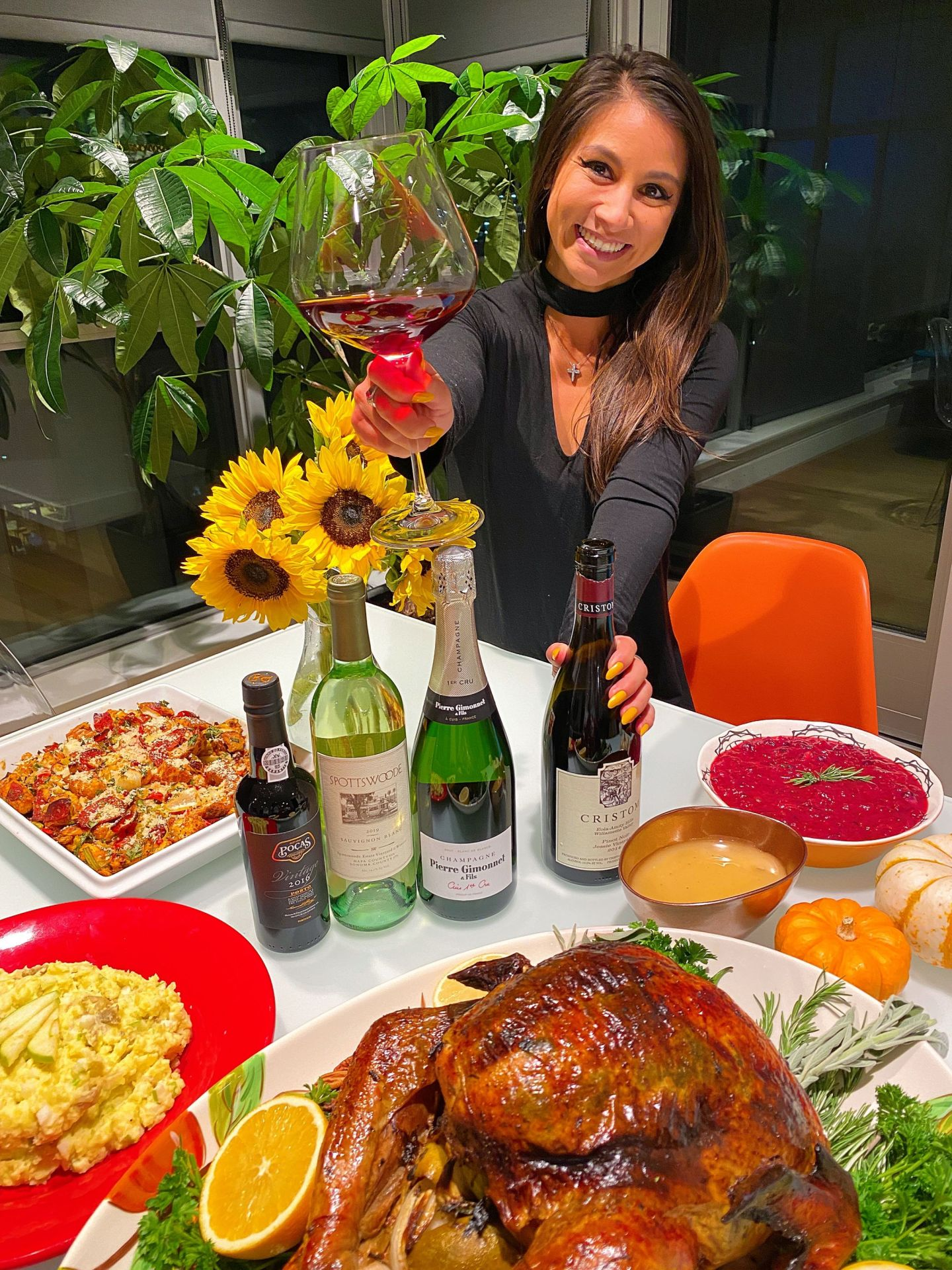 Here's everything you need to know about Thanksgiving wine pairings.