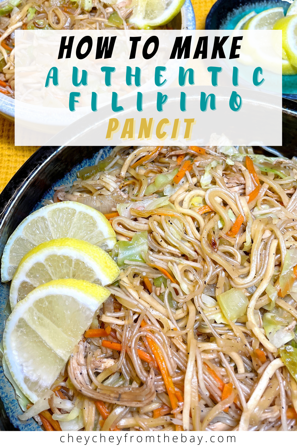 How to make authentic Filipino pancit