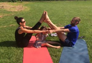 Family Yoga at Colfe's Leisure Centre