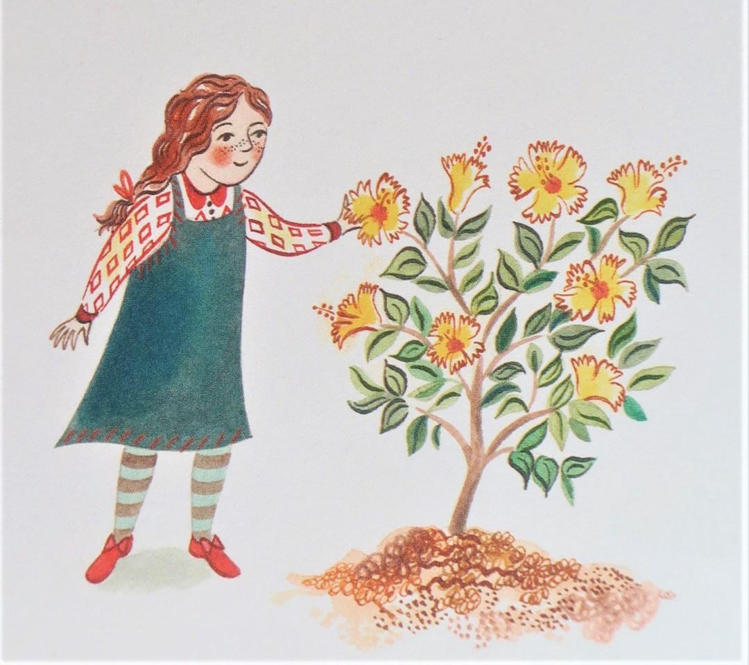Tous, la Biodiversité sur Terre - Enfant et plante