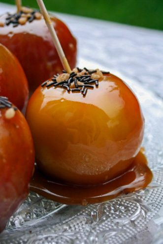 Pomme D Amour En Anglais : pomme, amour, anglais, Toffee, Apples, (pommes, D'amour, Caramel)