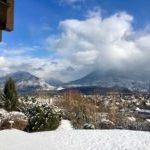 vue neige monagnes