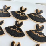 黒鳥, blackswan, balleticingcookie, バレエ衣装クッキー, 黒鳥