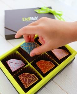バレンタインチョコレート,delrey, 老舗ショコラティエベルギーチョコ, ベルギー老舗
