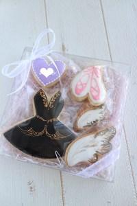 balleticingcookie, バレエアイシングクッキー, オーダーメイドクッキー