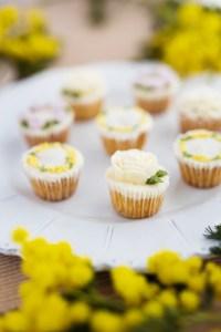 米粉カップケーキ, バタークリームデコレーション, グルテンフリーカップケーキ