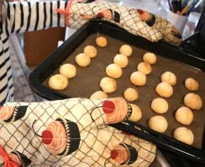 米粉のスノーボールクッキーレシピ