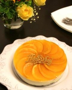 グルテンフリー, オレンジムース, 誕生日