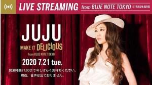 juju, bluenotetokyo, streaminglive