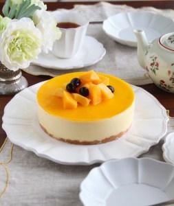 手作りマンゴーデザート, マンゴーレアチーズケーキ,台湾マンゴー
